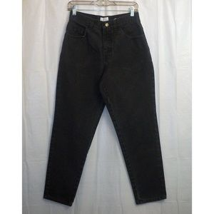 Moda Intl. The London Jean Tapered Leg 10 Black